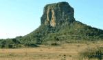 The unique Hanglip Mountain peak. © Renate de Villiers.  Property Review: Entabeni Safari Conservancy 10 3 Hanglip Mountain