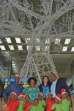 ORTIA Kicks Off Holiday Season With Festive Lights ACSA Lights
