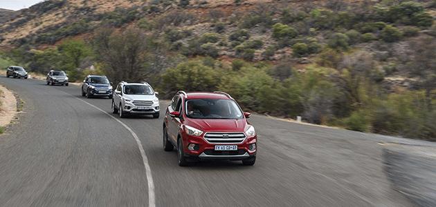 new ford kuga 2017 Travelogue: Exploring the New Ford Kuga Ford Kuga Convoy Gariep