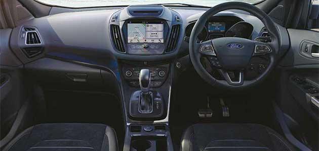 new ford kuga 2017 Travelogue: Exploring the New Ford Kuga Ford Kuga Interior
