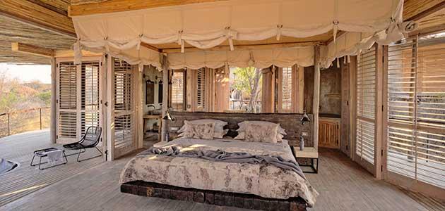 Asilia Africa Expands into Southern Tanzania Asilia Africa Jabali Double room Interior