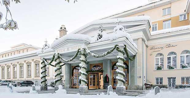 Kulm Hotel St Moritz Spa