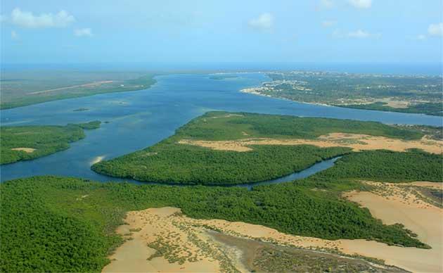 tourist attractions in kenya 4 Top Tourist Attractions in Kenya Lamu Island Aerial