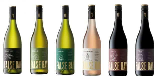 False Bay Wine Range Gets New Identity False Bay New Look range shot HR e1516133855757