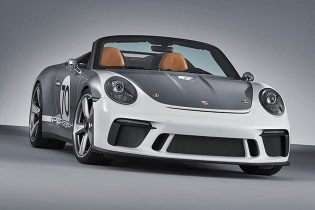 Porsche 911 Speedster Celebrates 70 Years of Sports Cars Porsche 911 Speedster Concept Front