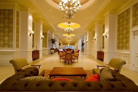 The grandiose Boardwalk Hotel Convention Centre foyer  Conventions — Par Excellence Boardwalk Hotel