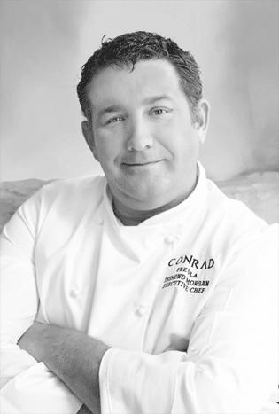 Executive Chef, Desmond Morgan  New Executive Chef for Conrad Pezula Chef Desmond Conrad