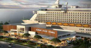 Artists impression of Durban Cruise Terminal