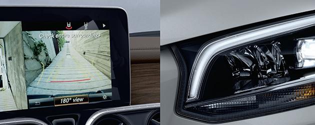 Mercedes-Benz X-Class The All New Mercedes-Benz X-Class Mercedes X Class Interior Screen Headlights