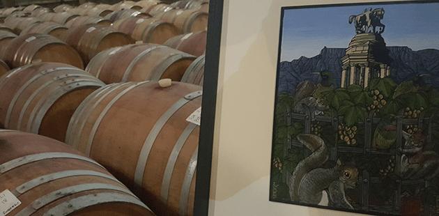 Art & Wine Combine To Create Collectors Reserve Art Cape Gardens