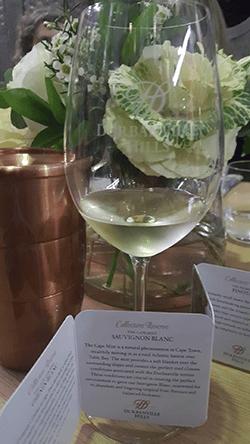 Art & Wine Combine To Create Collectors Reserve Cab Glass 250