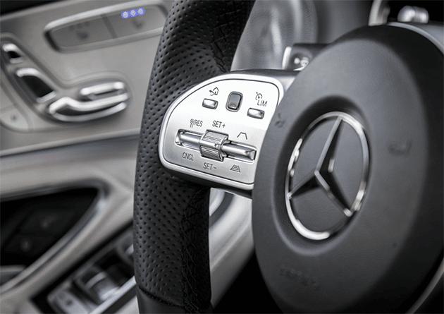 Mercedes-Benz New C-Class Mercedes-Benz Launches New C-Class MB New C Class Steering Console