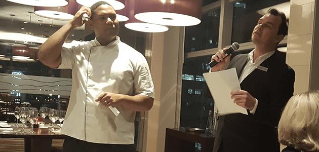 Epicurean Edutainment At ON19 Restaurant ON19 Chef Steven