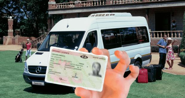 SA Professional Driving Permit