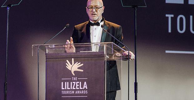 Tourism Minister Derek Hanekom at the Lilizela Awards