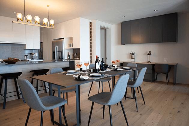 Elements Luxury Suites Dining Room