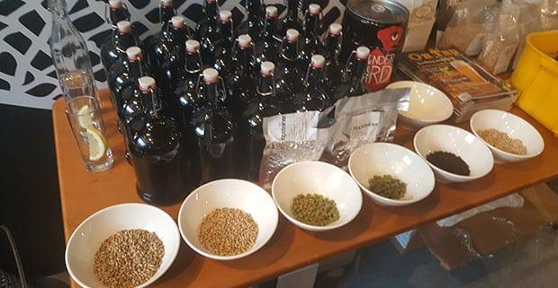 Darling Brew 1-litre growler bottles