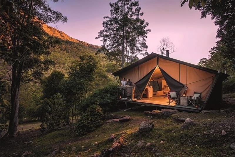 Nightfall Wilderness camp, Queensland