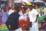 Painting by Nigel Henri, Seychelles